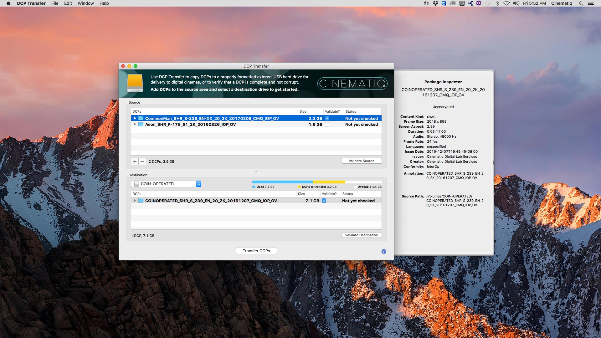 dcp player mac free